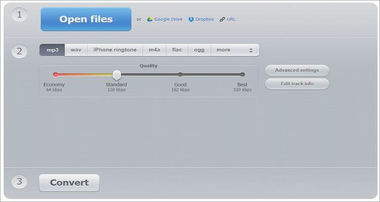 Ringtone Online Converter - Online Audio Converter