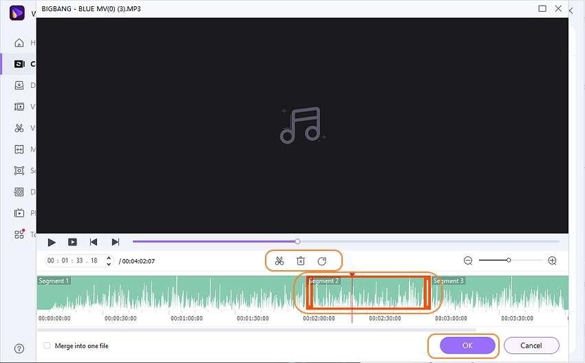 edit video/audio file by Wondershare Audio Converter
