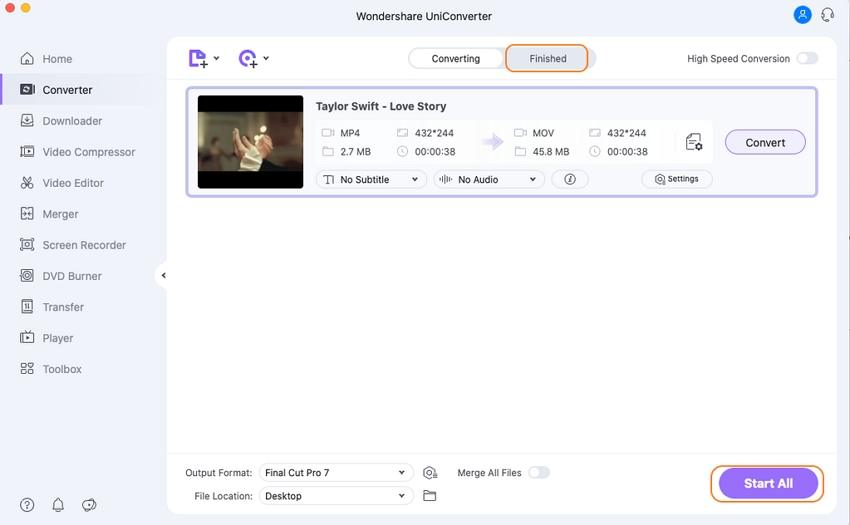 convert iTunes M4V to iMovie