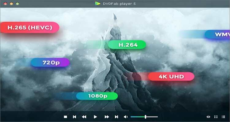 Free Blu-ray Player for Mac - DVDFab Player 6 for Mac