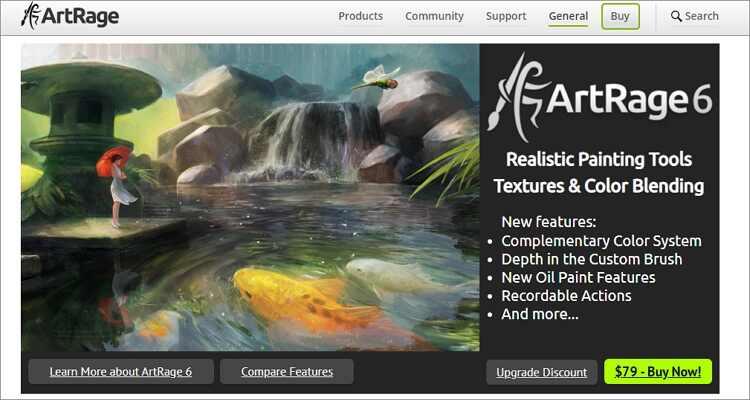 Online-Zeichenprogramm für Mac - ArtRage