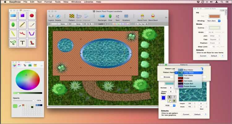 online drawing software for Mac - EazyDraw for Mac