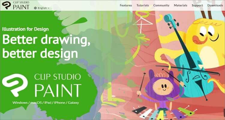 Online-Zeichenprogramm für Mac - Clip Studio