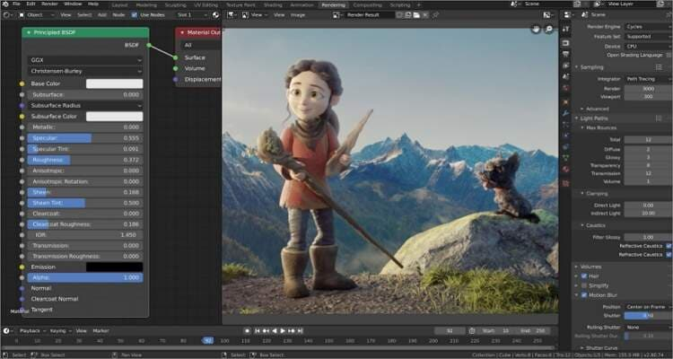 Free Video Editing Software for Mac - Blender