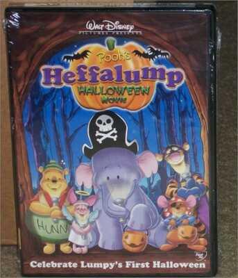 Kids Halloween Movies - Pooh's Heffalump Halloween Movie