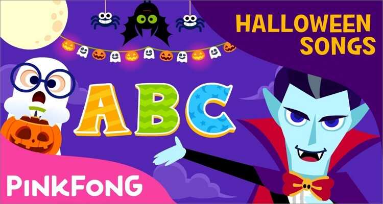 Halloween songs for kids- Halloween ABC Song