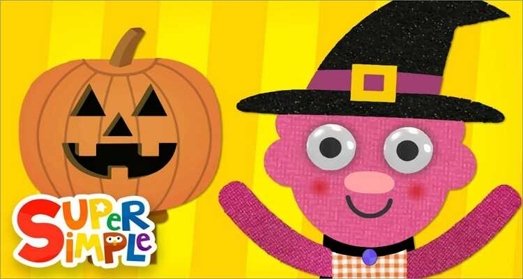 Halloween songs for kids- Can You Make a Happy Face? Halloween Song