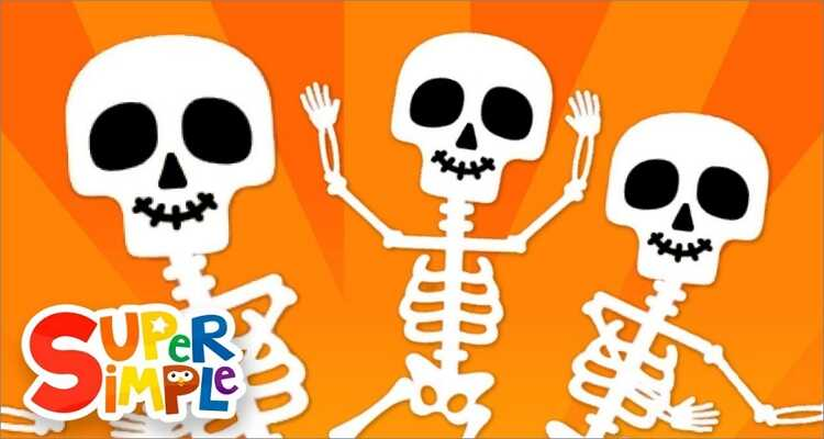 Halloween songs for kids- The Skeleton Dance