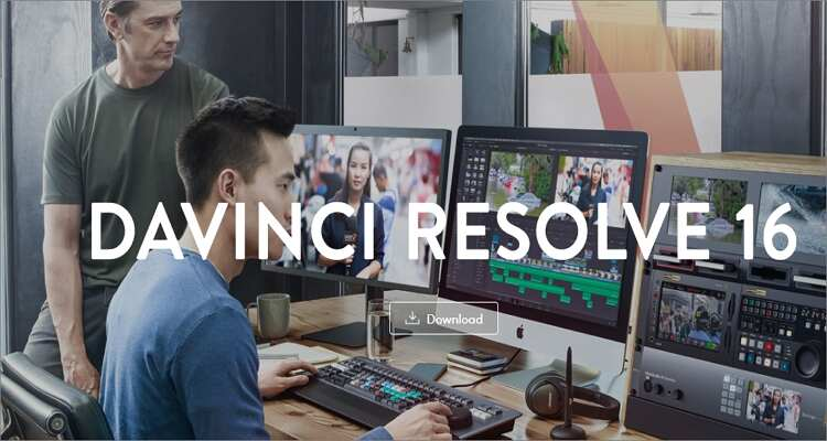 Edit MP4 on Mac Recommended - Davinci Resolve