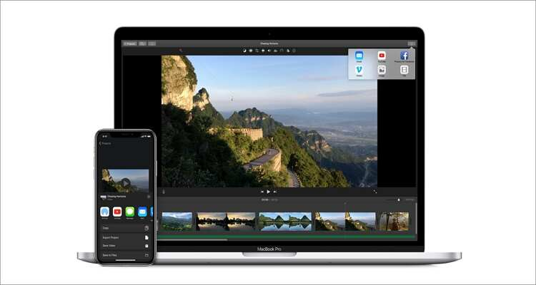 Edit MP4 on Mac Recommended - iMovie