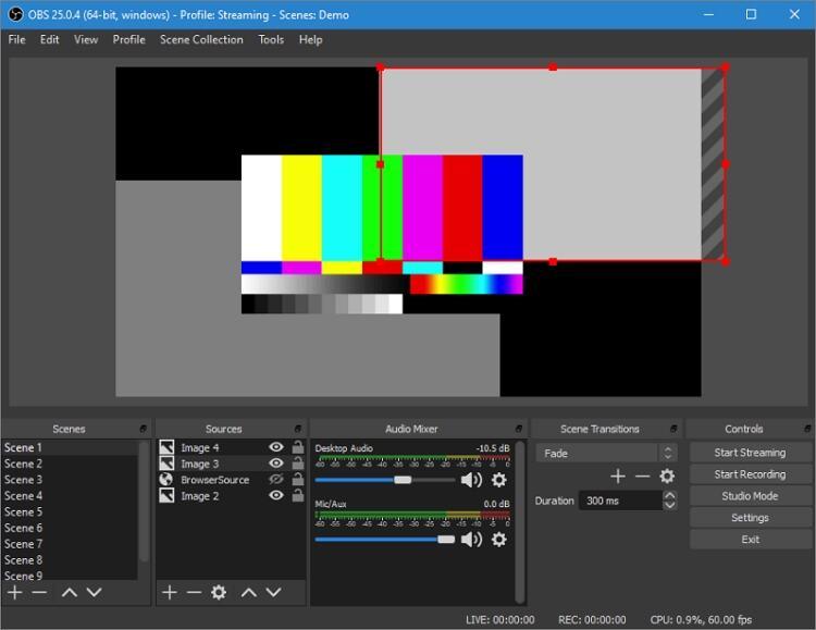 Ein Webinar auf einem Mac aufnehmen - OBS Studio
