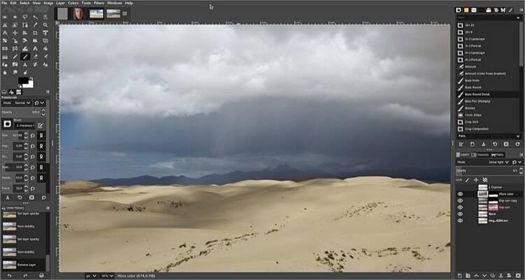 Online Bild Editor Tool für Mac - Gimp