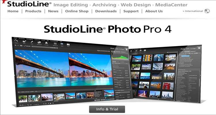 reduce the image size online - StudioLine Photo Basic