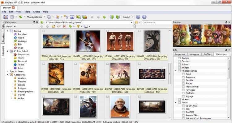 reduzir o tamanho da imagem online - XnViewMP