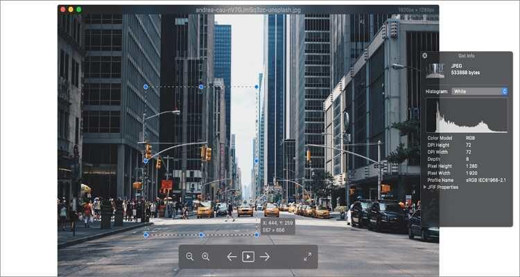 Kostenloser online Bildbetrachter für Mac - Pixea