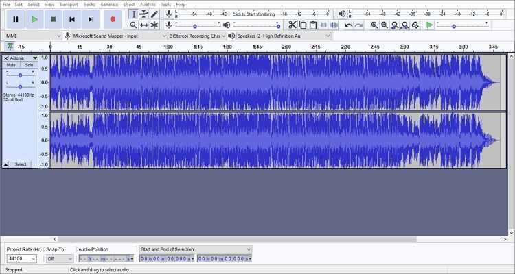 Record Podcast on Mac - Audacity