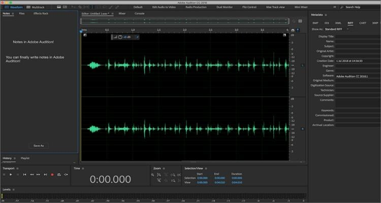 Record Podcast on Mac - Adobe Audition