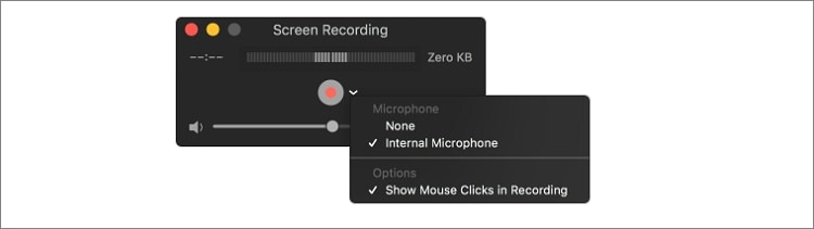 how to record screen and audio by QuickTime