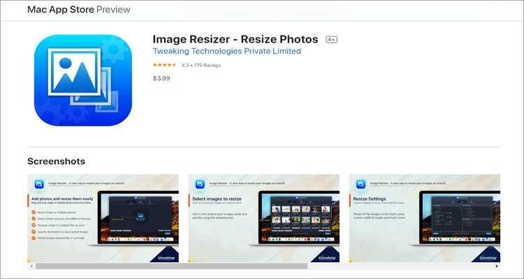 reduce the image size online - Image Resizer