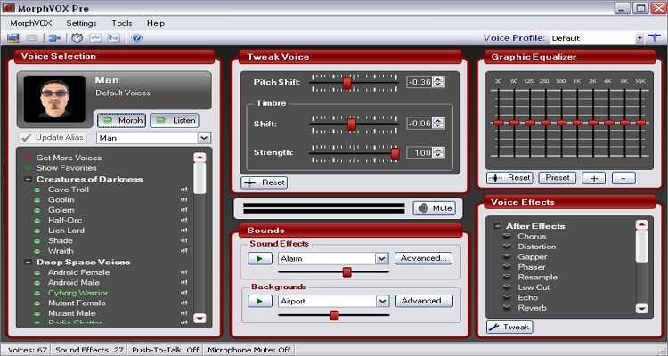Stimmverzerrer für Mac - PicGIF for Mac