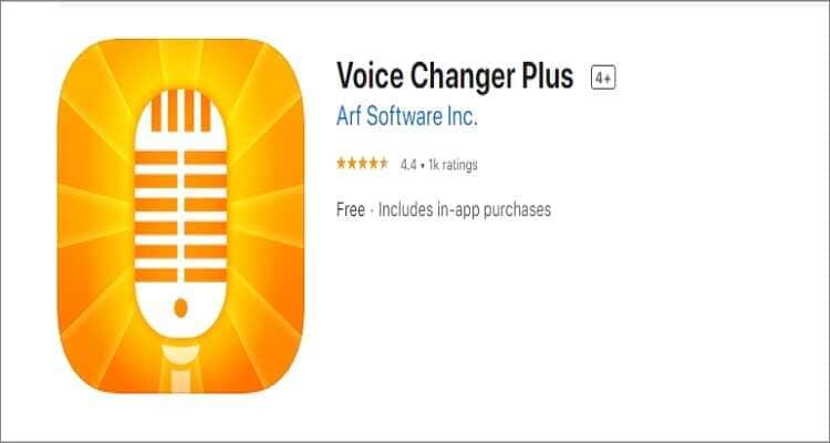 voice changer for Mac - Voice Changer Plus