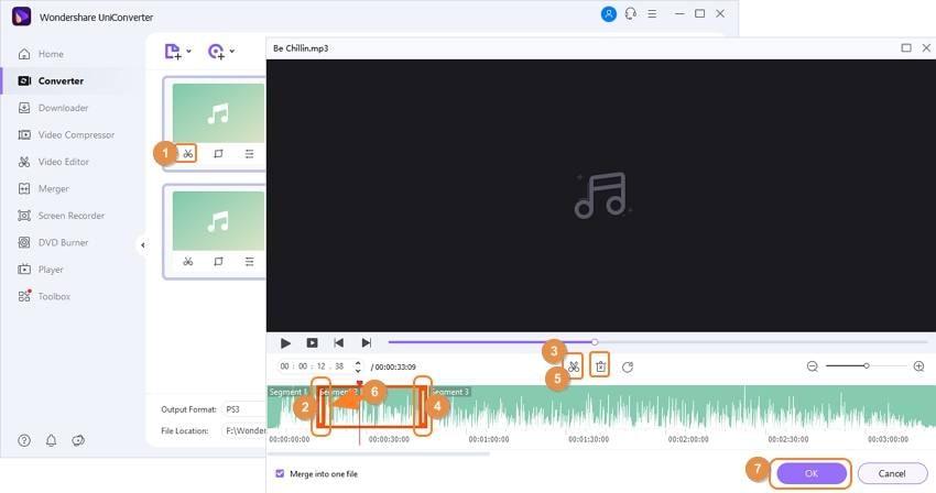 MP3 Dateien schneiden