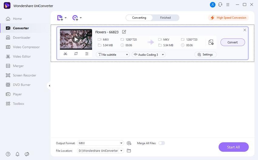 encode mkv files - convert