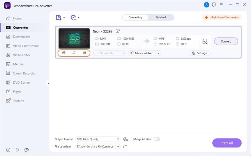 cut mkv files - edit