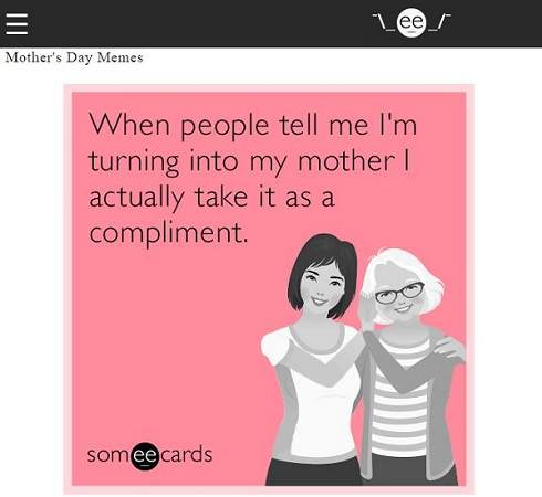 Someecards Mother's Day