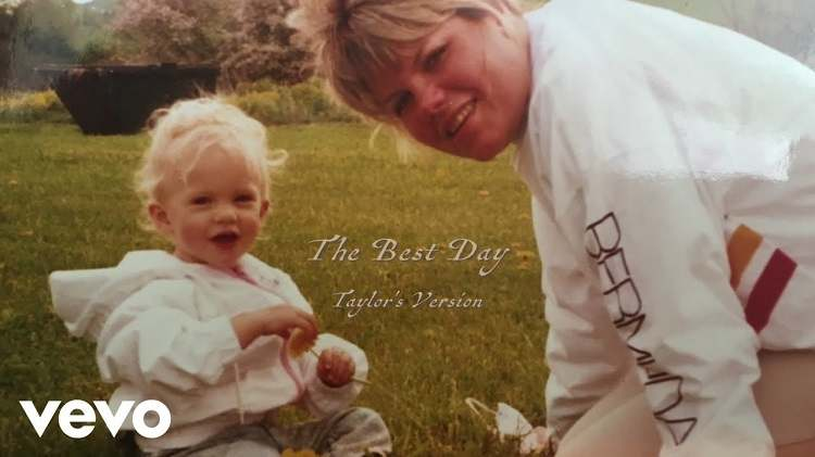 """""""The Best Day"""" by Taylor Swift"""