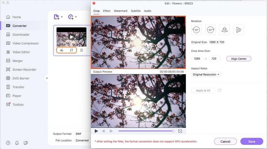 edit mov video on mac