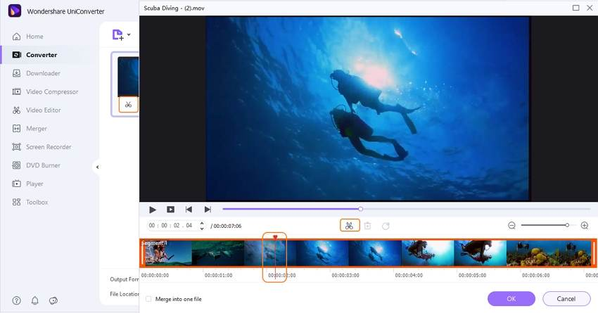 edit video before conversion
