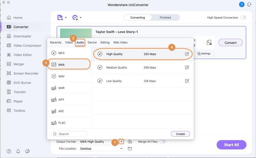 Comment extraire l'audio de MOD (MOI) sur Mac - MOD convertisseur pour Mac