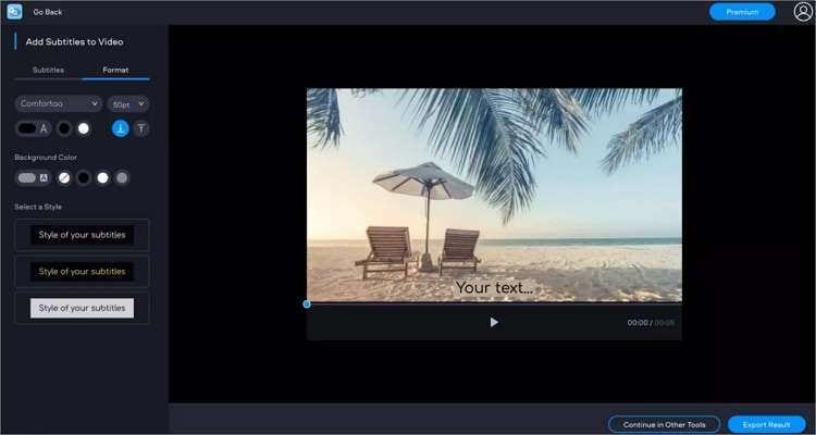 add subtitles to movie online