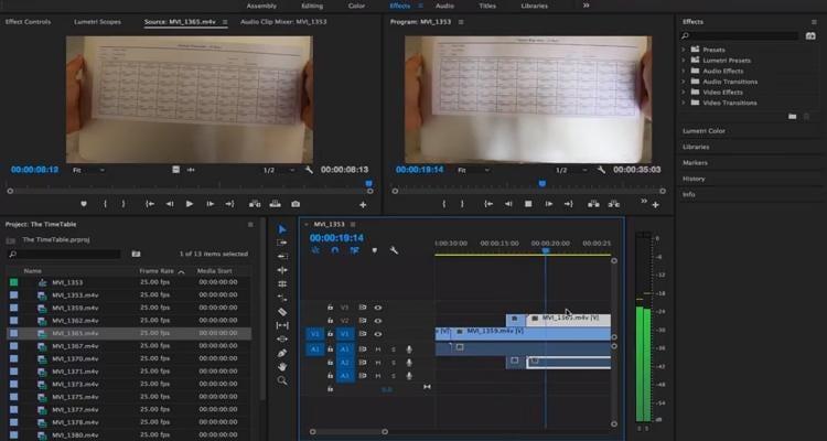 film editing techniques continuity editing