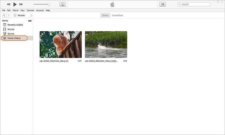 send videos from pc to iphone