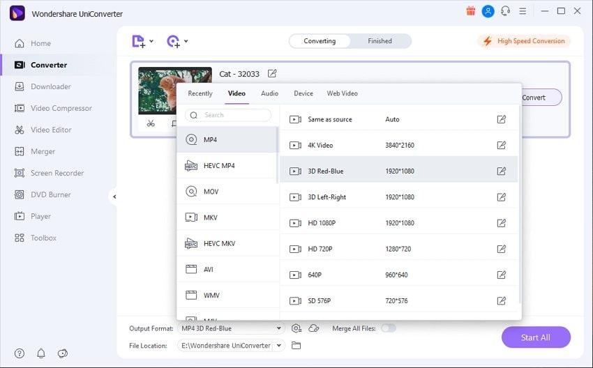 uniconverter video converter