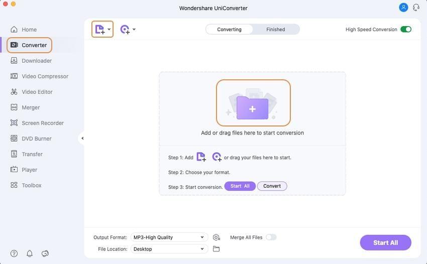 add wav files mac