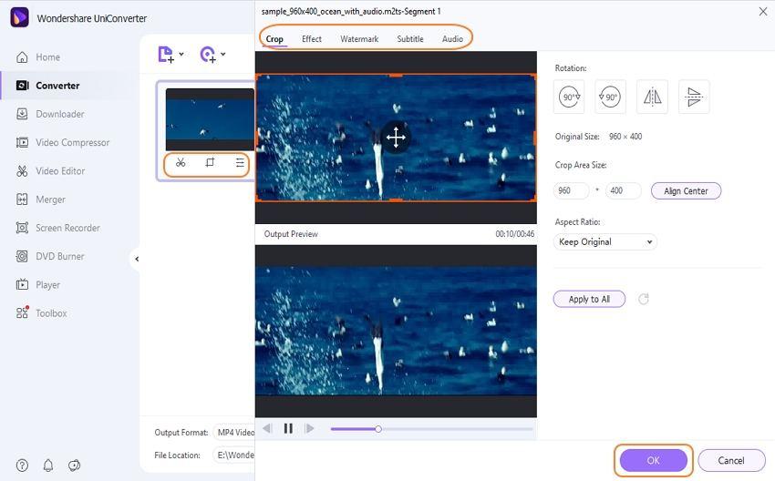 edit M2TS videos