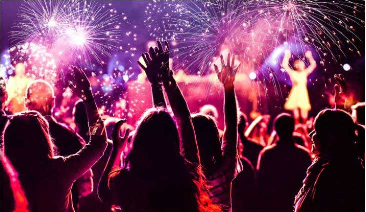 New Year's day celebration