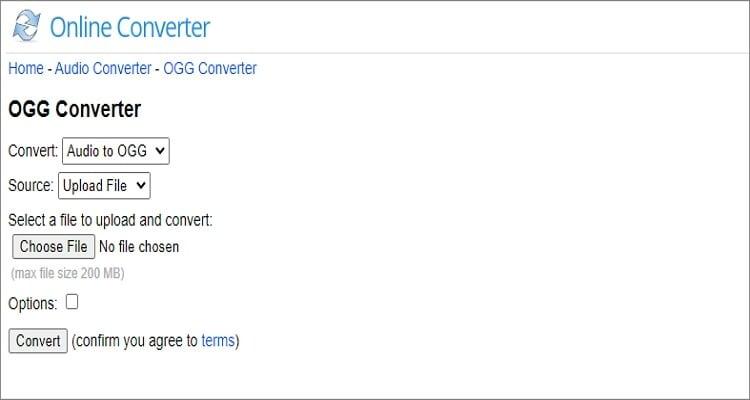 M4A to OGG Online Converter - Online Converter