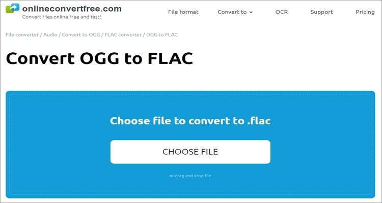 MOV to OGG Online Converter - Onlineconvertfree