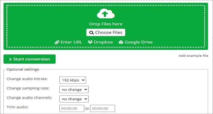 OGG to AIFF Online Converter - OnlineConvert