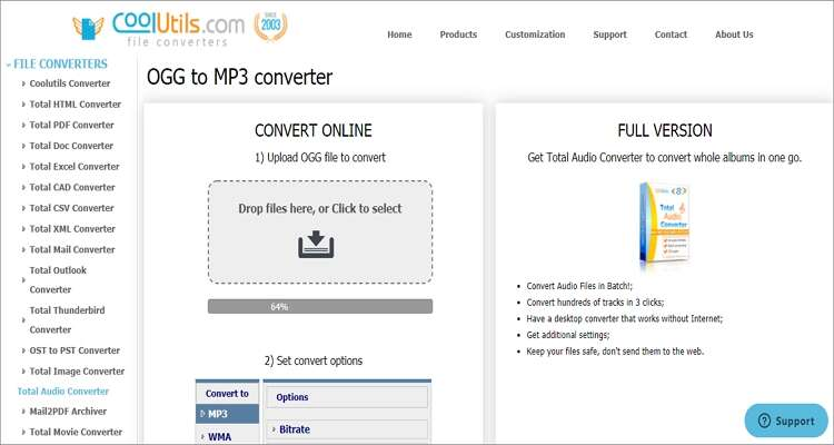 Free Online OGG to MP3 Converter - Coolutils