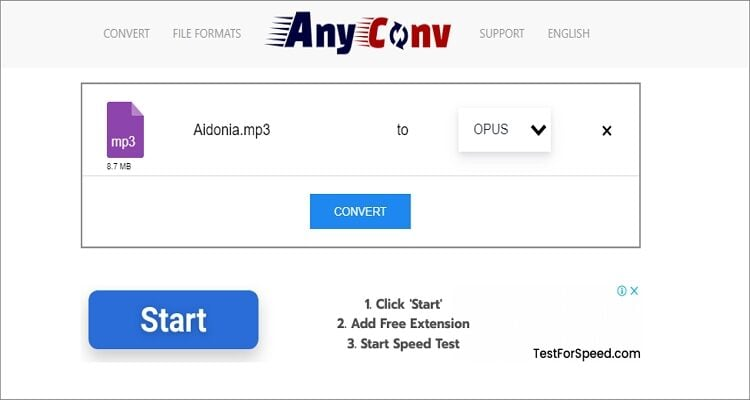 Convert OPUS to MP3 online ✅ Fast and Free .OPUS to .MP3 changing | blogger.com