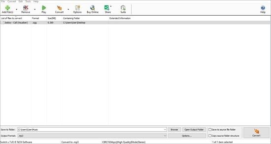 Free Online OGG to MP3 Converter - Switch Audio File Converter