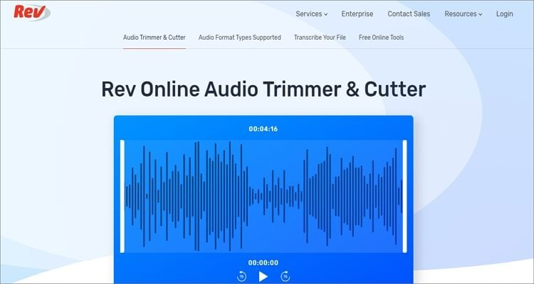 Online OGG Cutter - Rev Audio Trimmer & Cutter