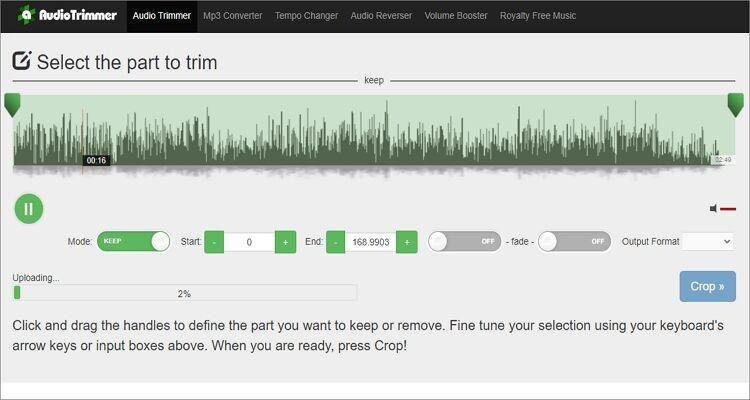 Online OGG Cutter- AudioTrimmer