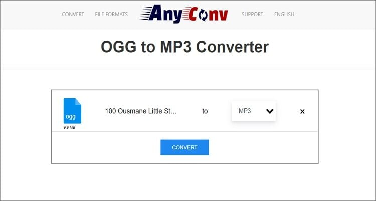 Free Online OGG to WAV Converter - AnyConv