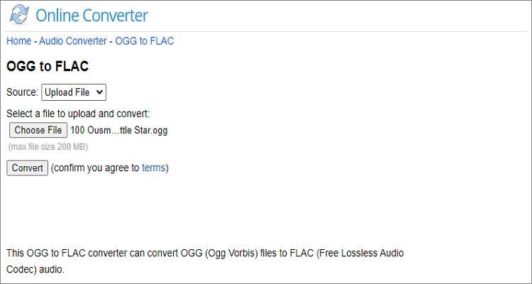 FLAC to OGG Online Converter - Online Converter